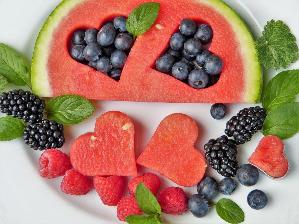 Kleurig gezond/fruit