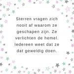 quote over sterren